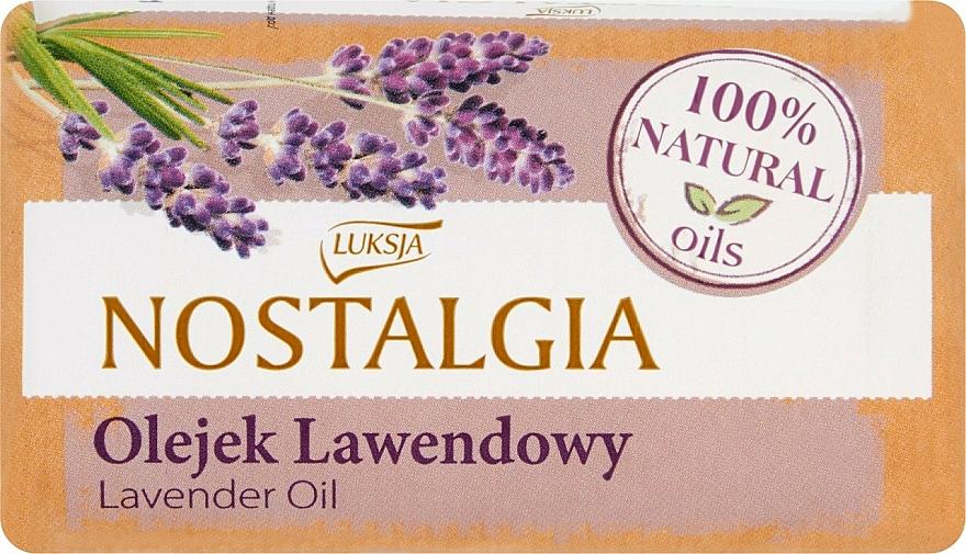 """Soap """"Lavender Oil"""" - Luksja Nostalgia Lavender Oil Soap"""