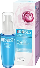 Fragrances, Perfumes, Cosmetics Lifting Anti-Wrinkle Coenzyme Q10 Face Cream - Nature of Agiva Roses Anti-Age Complex Q10 Anti-Wrinkle Lifting Serum