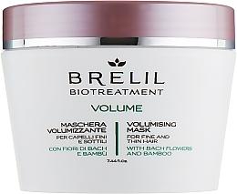 Fragrances, Perfumes, Cosmetics Volume Hair Mask - Brelil Bio Treatment Volume Hair Mask