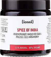 "Fragrances, Perfumes, Cosmetics Body Butter ""Indian Spices"" - Iossi Regenerating Body Butter"
