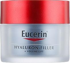 Fragrances, Perfumes, Cosmetics Night Face Cream - Eucerin Hyaluron-Filler+Volume-Lift Night Cream