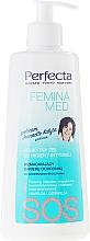 Fragrances, Perfumes, Cosmetics Gentle Gel for Intimate Hygiene - Perfecta Femina Med SOS