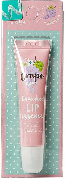 Lip Essence with Grape Scent - Welcos Around Me Enriched Lip Essence Grape