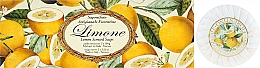 "Fragrances, Perfumes, Cosmetics Soap Set ""Lemon"" - Saponificio Artigianale Fiorentino Lemon Soap"