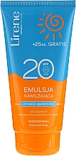 Fragrances, Perfumes, Cosmetics Waterproof Moisturizing Tan Emulsion - Lirene Sun Care Emulsion SPF20