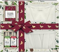 Fragrances, Perfumes, Cosmetics Set - Baylis & Harding The Fuzzy Duck Winter Wonderland Luxury Gown Set (b/wash/100ml + b/lot/100ml + f/cr/75g + gown)