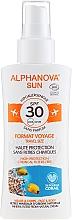 Fragrances, Perfumes, Cosmetics Sunscreen Spray - Alphanova Sun Bio SPF30 Spray Voyage