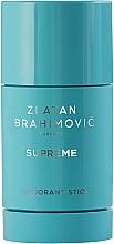 Fragrances, Perfumes, Cosmetics Zlatan Ibrahimovic Supreme Pour Homme - Deodorant-Stick