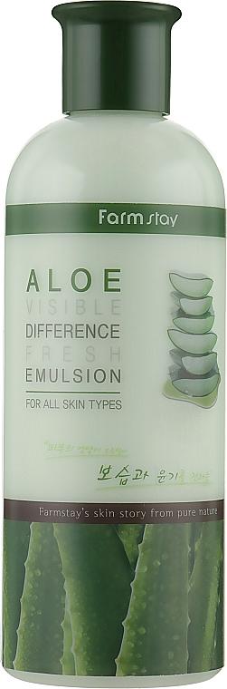 Refreshing Aloe Emulsion - FarmStay Visible Difference Fresh Emulsion Aloe