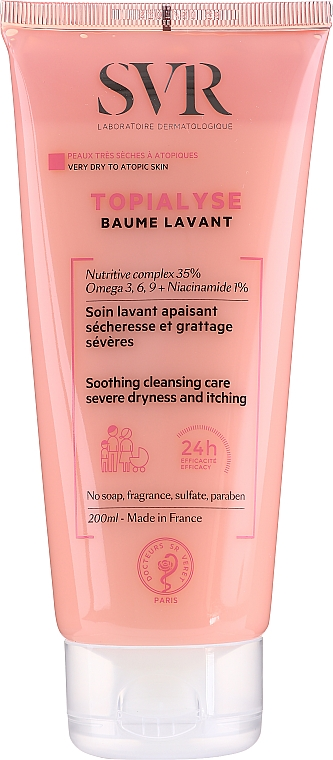 Cleansing Face and Body Balm - SVR Topialyse Baume Lavant