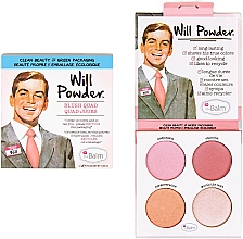 Fragrances, Perfumes, Cosmetics Face Blush Palette - theBalm Will Powder Blush Quad