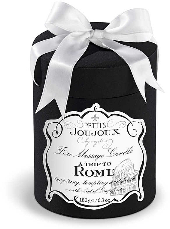 Massage Candle - Petits Joujoux A Trip To Rome Massage Candle — photo N2