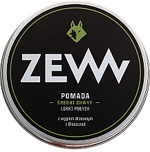Fragrances, Perfumes, Cosmetics Water-Based Hair Styling Pomade with Charcoal - ZEW Pomade For Men