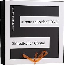 Fragrances, Perfumes, Cosmetics Set - Sezmar Collection Love Crystal (sh/gel/250ml + massage/oil/100ml + b/lot/200ml)