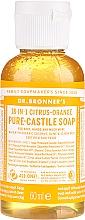 """Fragrances, Perfumes, Cosmetics Liquid Soap """"Citrus and Orange"""" - Dr. Bronner's 18-in-1 Pure Castile Soap Citrus & Orange"""