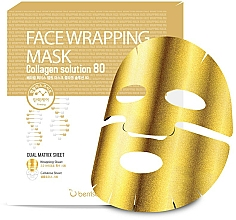 Fragrances, Perfumes, Cosmetics Gold Collagen Mask - Berrisom Face Wrapping Mask Collagen Solution