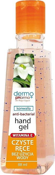 """Antibacterial Hand Gel """"Lily of the Valley"""" - Dermo Pharma Antibacterial Hand Gel"""
