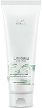 Fragrances, Perfumes, Cosmetics Cleansing Conditioner for Curly & Wavy Hair - Wella Professionals Nutricurls Cleansing Conditioner for Waves and Curls