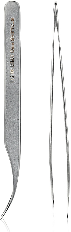 Professional Eyelash Tweezers - Staleks Expert 40 Type 11