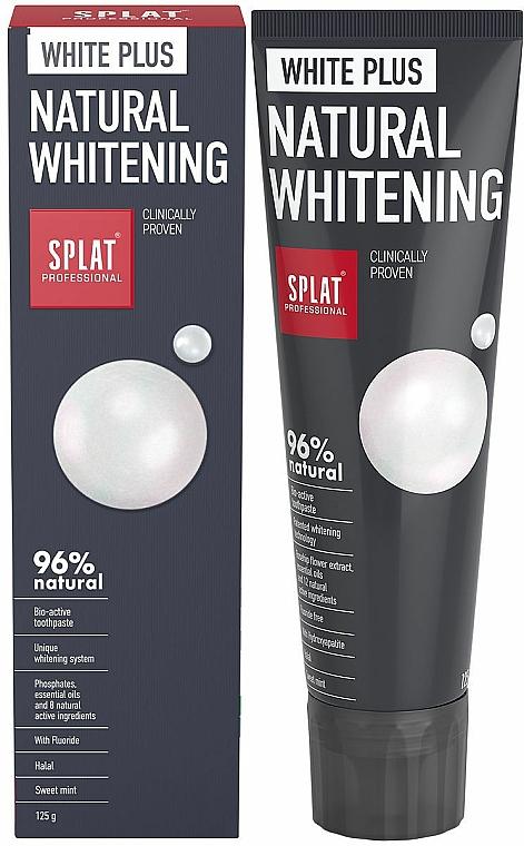 Toothpaste - SPLAT Professional White Plus Natural Whitening