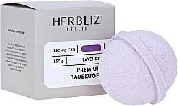 Fragrances, Perfumes, Cosmetics Lavender Bath Bomb - Herbliz CBD