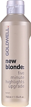 Fragrances, Perfumes, Cosmetics Lightening Lotion - Goldwell New Blonde Lotion