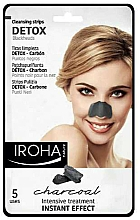 Fragrances, Perfumes, Cosmetics Nose Patches - Iroha Nature Detox Cleansing Strips Charcoal