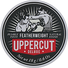Fragrances, Perfumes, Cosmetics Medium Hold Hair Styling Paste - Uppercut Deluxe Featherweight (mini size)