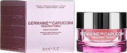 Fragrances, Perfumes, Cosmetics Night Restoration Mask - Germaine de Capuccini Timexpert Rides Night Success