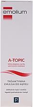 Fragrances, Perfumes, Cosmetics Bath Emulsion - Emolium A-topic Emulsion