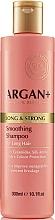 Fragrances, Perfumes, Cosmetics Ceramide Hair Shampoo - Argan + Long & Strong Smoothing Shampoo