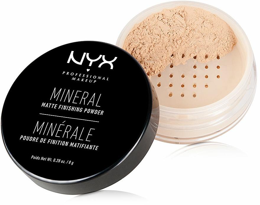Mineral Setting Powder - NYX Professional Makeup Mineral Matte Finishing Powder