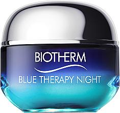 Fragrances, Perfumes, Cosmetics Night Face Cream - Biotherm Blue Therapy Night Cream