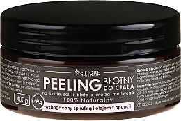 Fragrances, Perfumes, Cosmetics Body Peeling with Spirulina, Prickly Pear Oil and Acid - E-Fiore Body Peeling