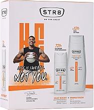 Fragrances, Perfumes, Cosmetics Set - STR8 Heat Resist & Energy Rush (deo/spray/150ml + sh/gel/400ml)