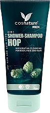 Fragrances, Perfumes, Cosmetics Men Hop Shower Gel-Shampoo - Cosnature Men