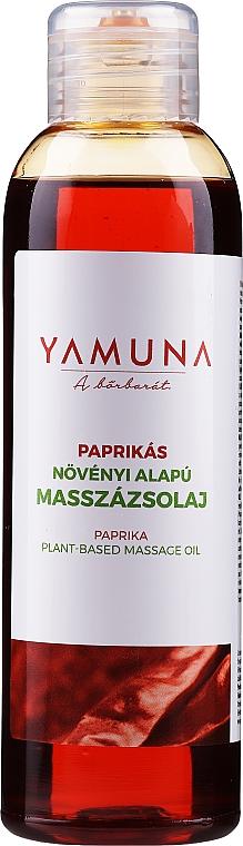 """Massage Oil """"Paprika"""" - Yamuna Paprika Plant Based Massage Oil"""