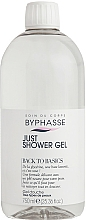 Fragrances, Perfumes, Cosmetics Shower Gel for All Skin Types - Byphasse Back To Basics Just Shower Gel