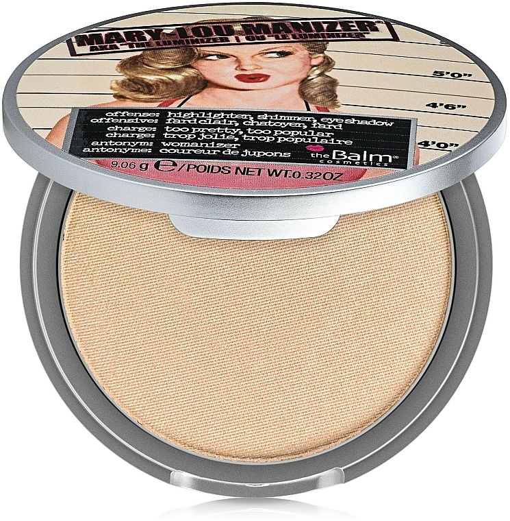 Highlighter, Shimmer and Shadow - theBalm Mary-Lou Manizer Highlighter & Shadow
