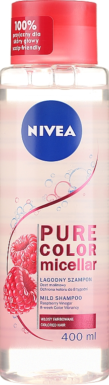 Micellar Shampoo for Colored Hair - Nivea Pure Color Micellar Shampoo
