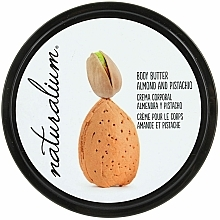 "Fragrances, Perfumes, Cosmetics Body Butter ""Almond & Pistachio"" - Naturalium Body Butter Almond And Pistachio"