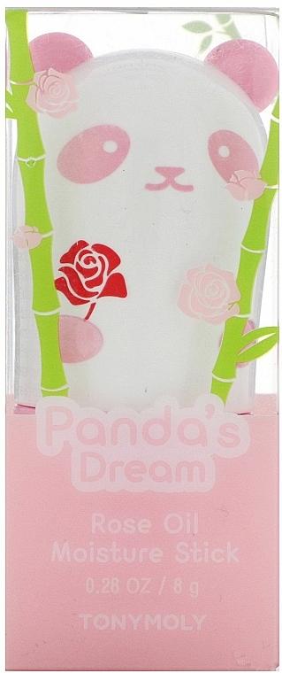 Moisturizing Rose Oil Stick - Tony Moly Panda's Dream Rose Oil Moisture Stick — photo N2