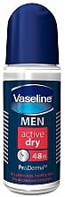 Fragrances, Perfumes, Cosmetics Deodorant - Vaseline Men Active Dry 48H Roll-On Deodorant