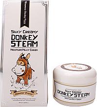 Fragrances, Perfumes, Cosmetics Face Cream - Elizavecca Silky Creamy Donkey Steam Moisture Milky Cream