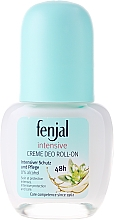 "Fragrances, Perfumes, Cosmetics Creamy Deodorant ""Intensive"" - Fenjal Intensive Creme Deo Roll-On 48H"