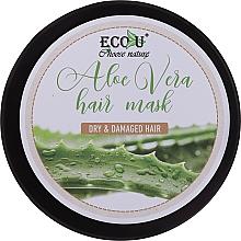 Fragrances, Perfumes, Cosmetics Dry & Damaged Hair Mask - Eco U Aloe Mask