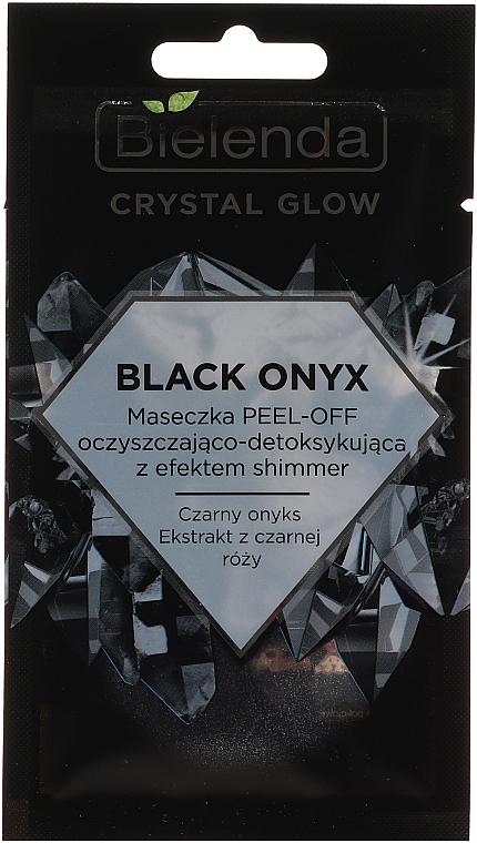 Cleansing Detox Face Mask - Bielenda Crystal Glow Black Onyx Peel-off Mask