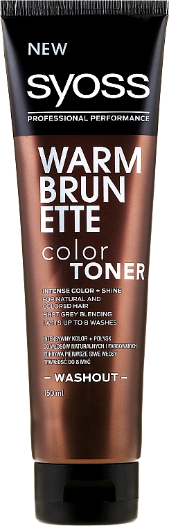 Tone Hair Color - Syoss Color Toner