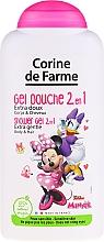 "Fragrances, Perfumes, Cosmetics Shampoo & Shower Gel 2 in 1 ""Minni"" - Corine de Farme Disney Minnie Mouse"