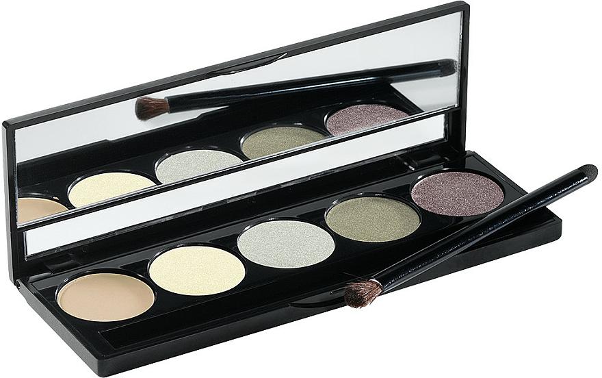 Eyeshadow Palette, 5 Shades - Peggy Sage Eye Shadows Palette Harmonie